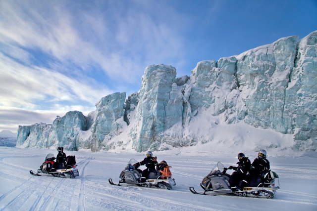 Norway snowmobiling