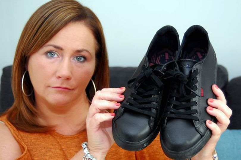 Single mother ordered by school to return £50 school shoes