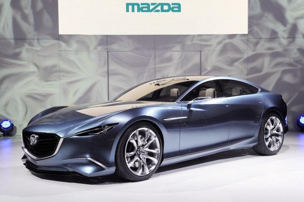 【レポート】マツダが「アテンザ」のクーペが開発中 新型「マツダスピード」も