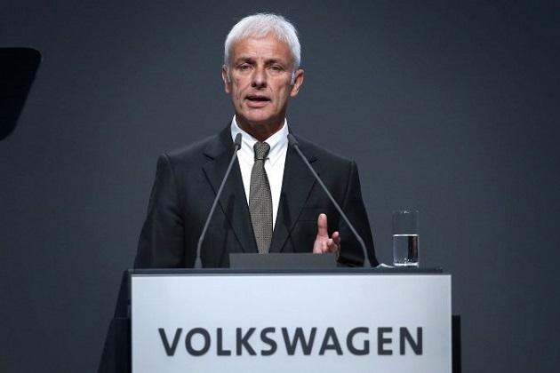 VWのミュラーCEO、「この先しばらくの間、ディーゼルは不可欠な存在であり続けるだろう」と発言