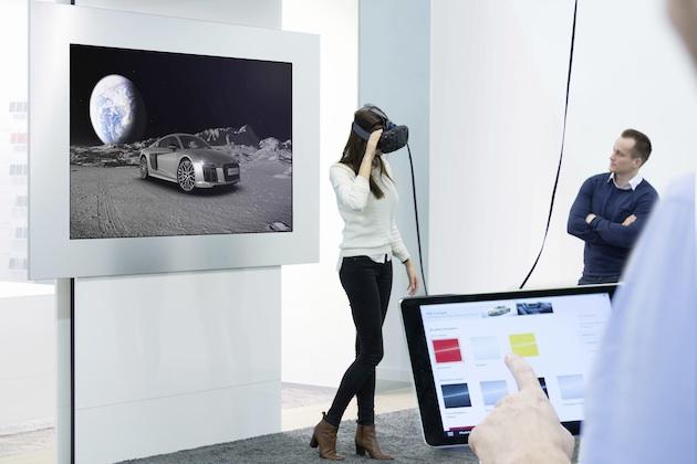 アウディ・ジャパン、実車を置かずに仮想空間でクルマが見られる「Audi VRテクノロジー体験イベント」を実施