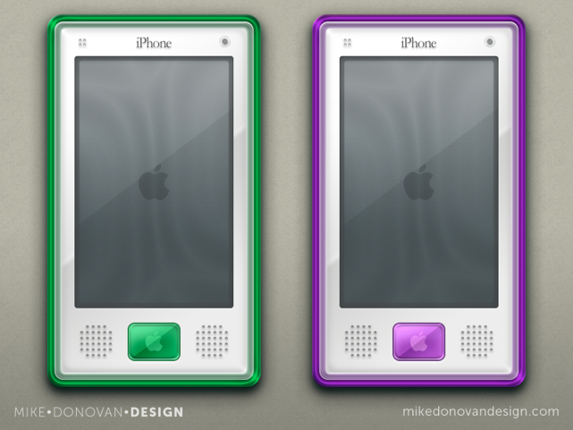 retro iphone concepts