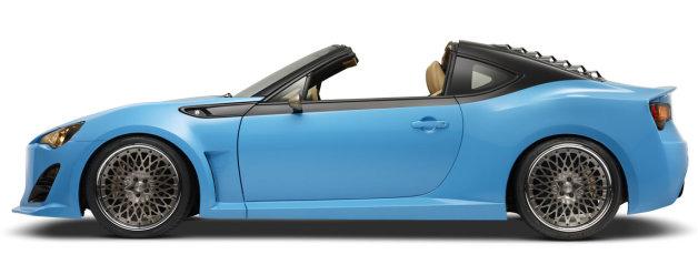 サイオン、SEMAでタルガトップスタイルの「FR-S」など3台のカスタマイズカーを発表