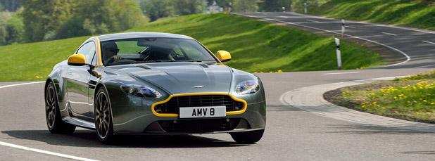 2015 Aston Martin V8 Vantage GT