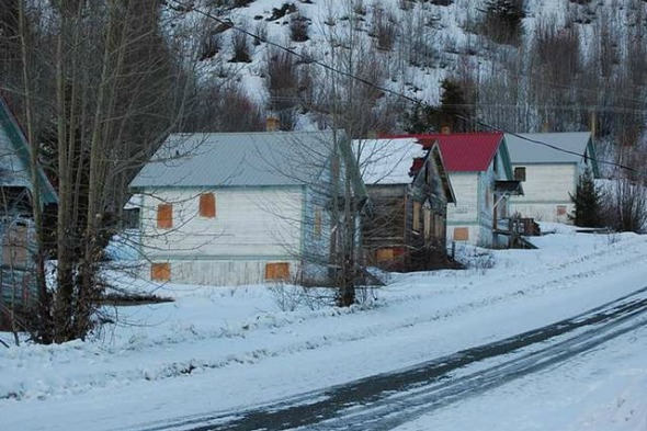 Canadian ghost town for sale