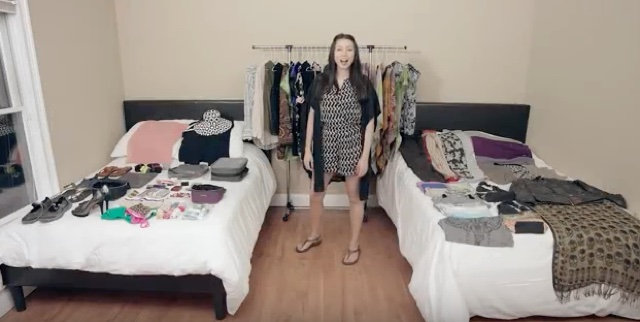 How to pack 130 items in your carry-on luggage