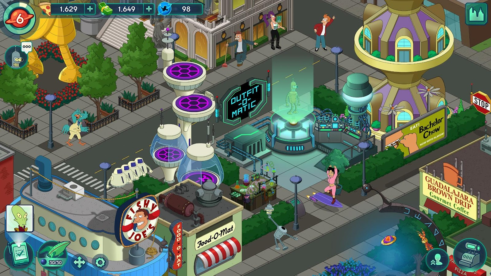 futurama ios android