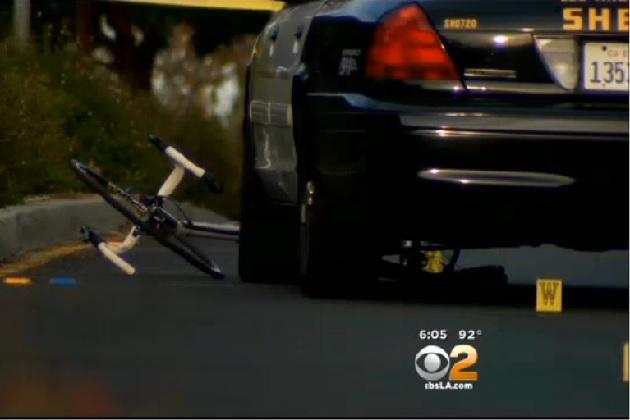 脇見運転で自転車の男性をはね死亡させた米の保安官代理が不起訴処分に