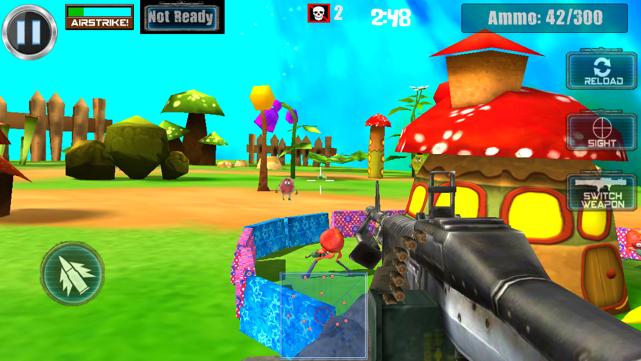 fruit plage 3d screenshot
