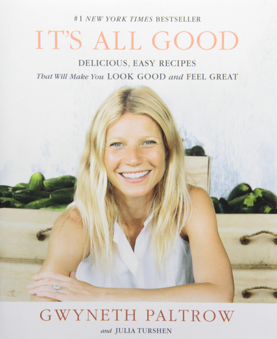 Gwenyth Paltrow cookbook, best cookbooks gift guide