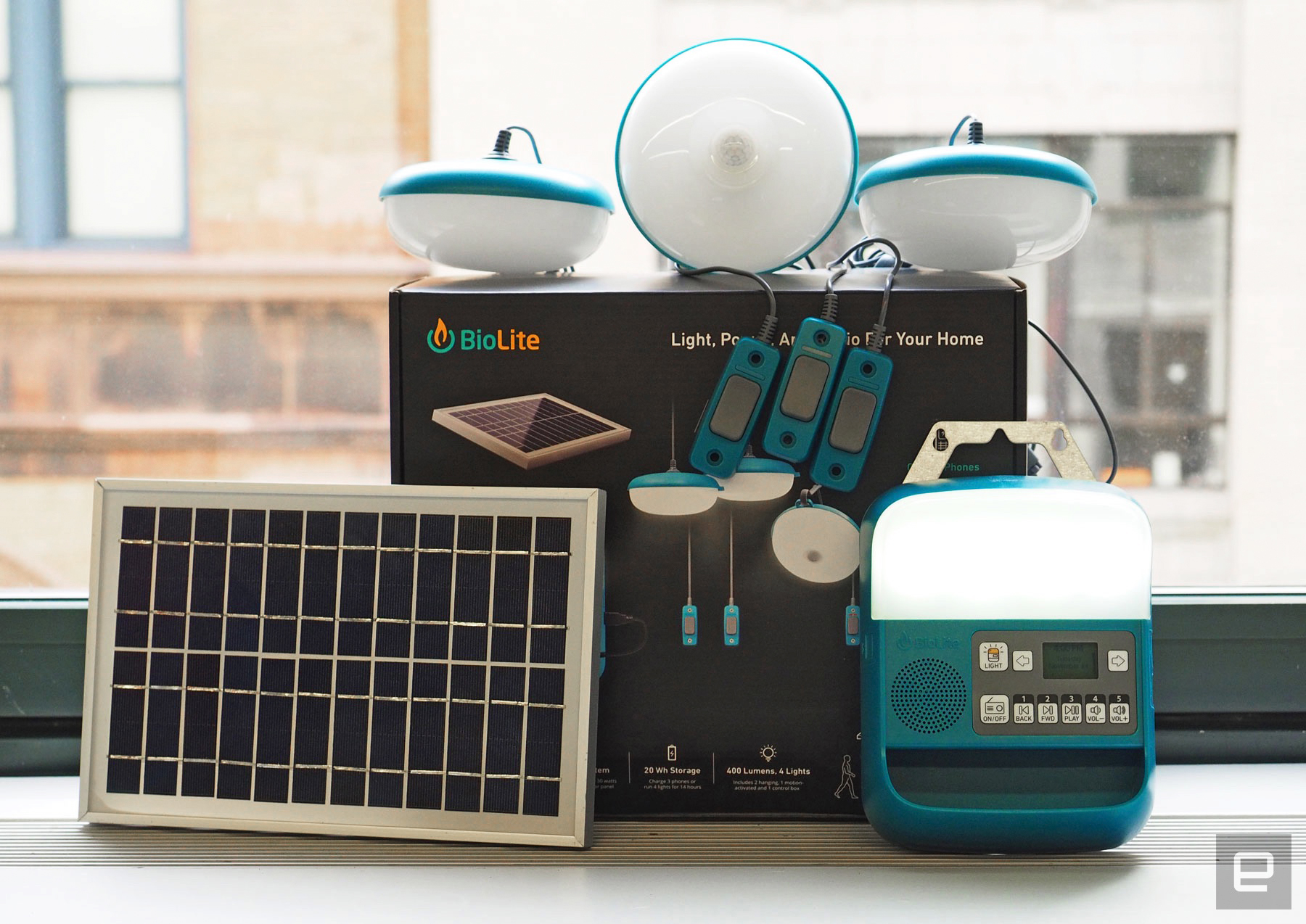 Biolite S Solarhome 620 Provides Power For Everyday Essentials