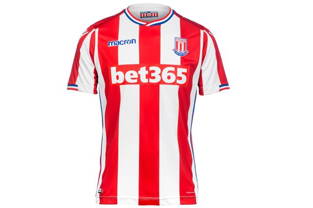 Stoke City FC home shirt 2017/18