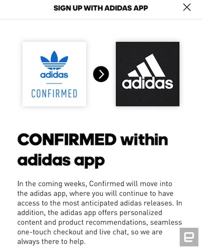 vast selection to buy los angeles Adidas brings Yeezy reservations to its main app | Engadget