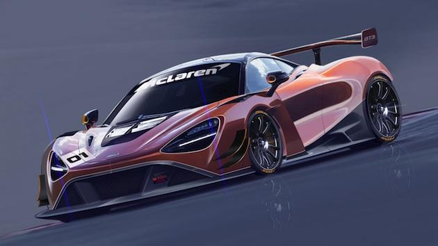 マクラーレン、新たなレース仕様車「720S GT3」のスケッチを公開