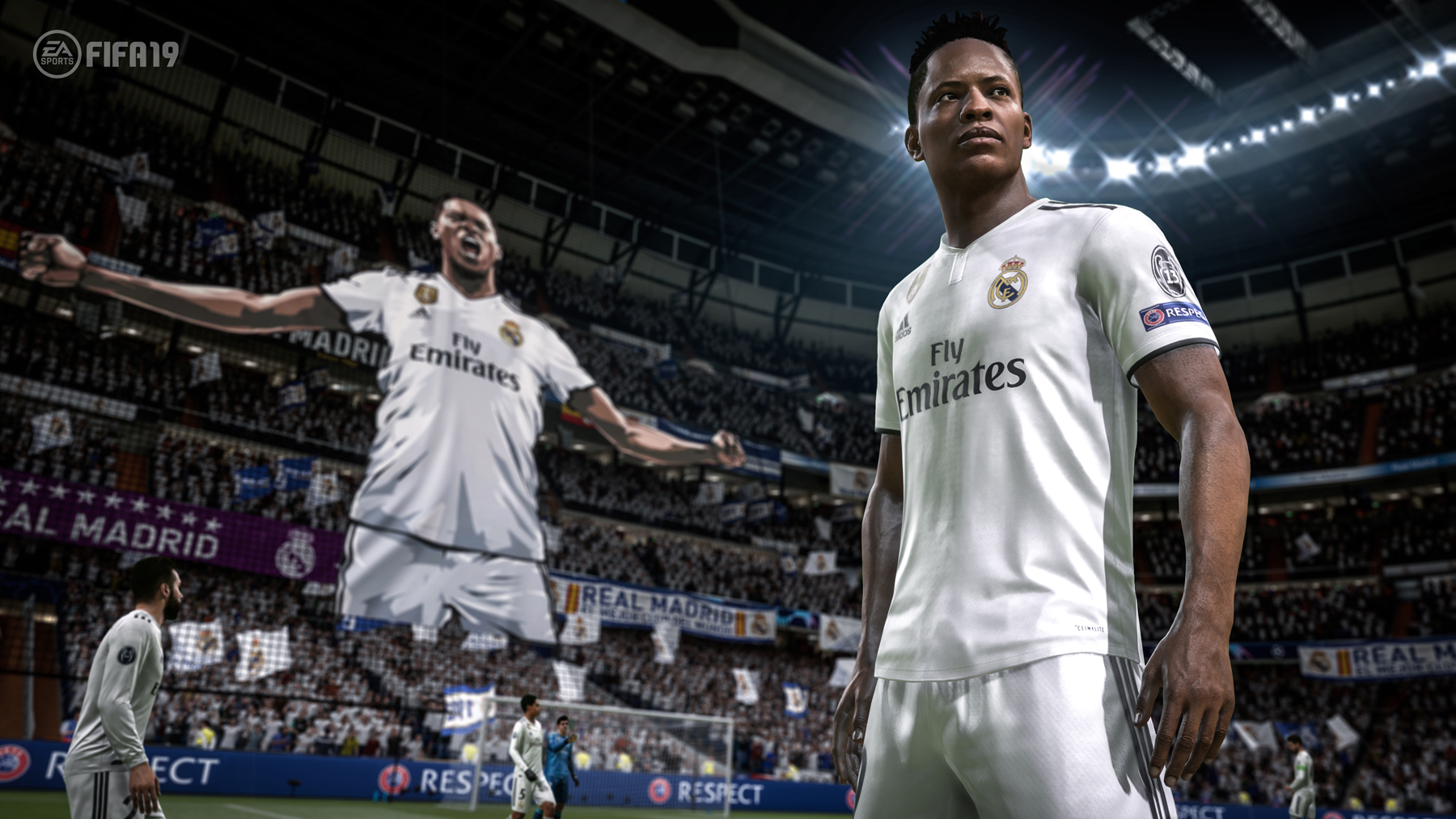 74700a9796c Fictional star Alex Hunter plays with Real Madrid in FIFA 19.
