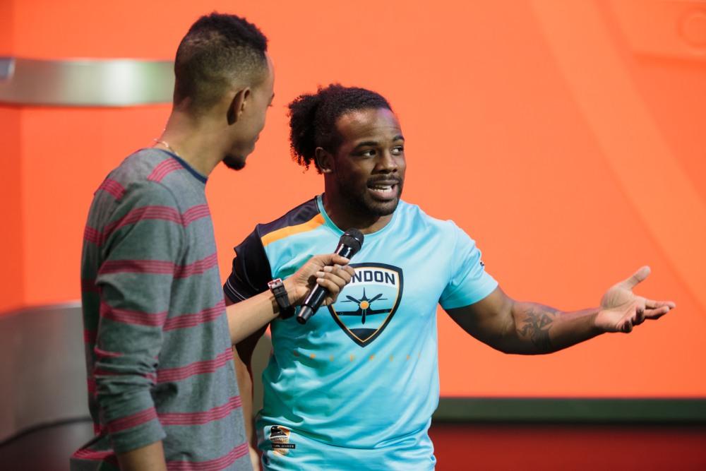 Malik Forte and Xavier Woods