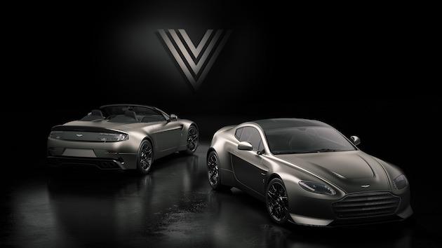 アストンマーティン、600馬力の特別モデル「V12 ヴァンテージ V600」を発表! わずか14台の限定生産