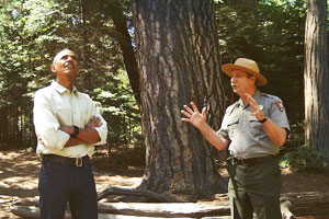 President Obama delivers an ode to America's national parks in VR