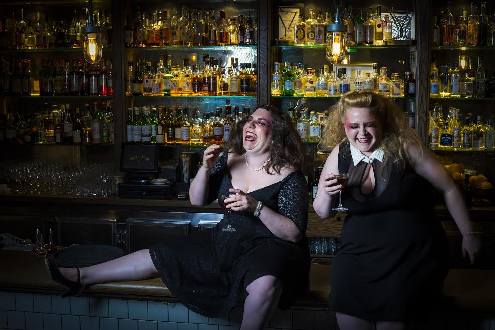 Maeve Marsden and Libby Wood appear in the hit Mother's Ruin: A Cabaret about