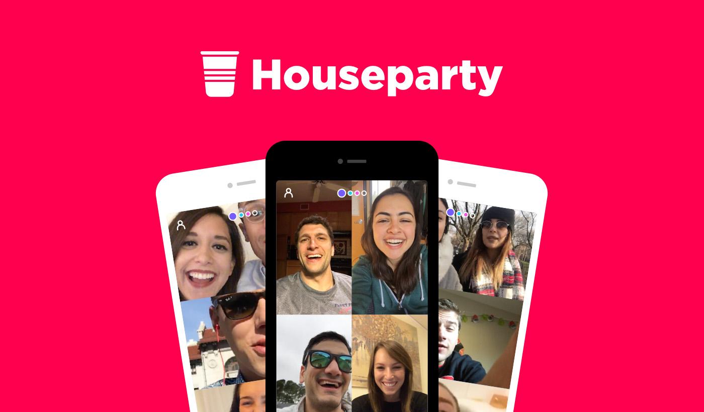Afbeeldingsresultaat voor houseparty app
