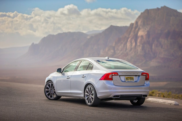 Volvo S60, exterior, rear, side
