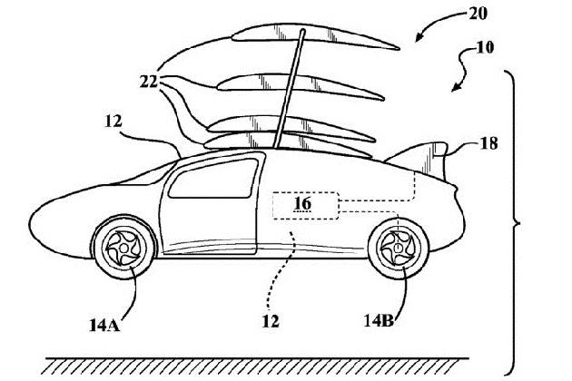 トヨタの「空飛ぶクルマ」実現に向けた特許出願書類が明らかに