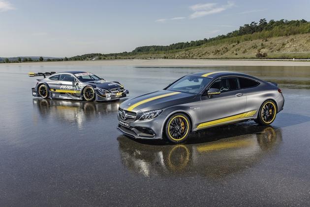 メルセデス・ベンツ、「AMG C63クーペ」のエディション1とDTMバージョンを公開