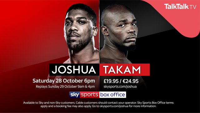 Joshua Takam fight poster