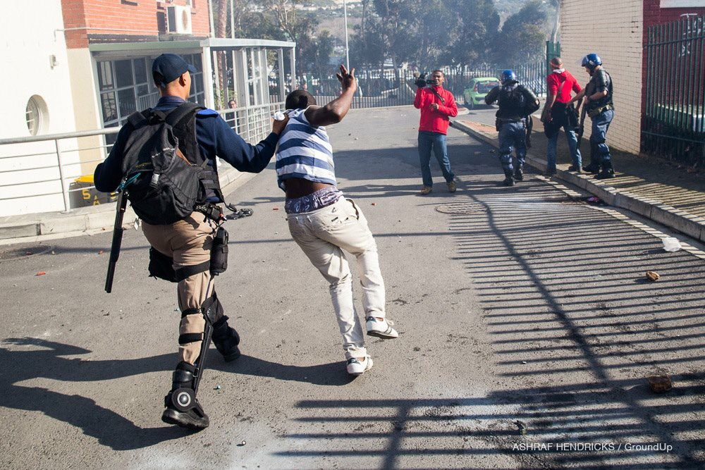 The Hout Bay Protest That Turned Into