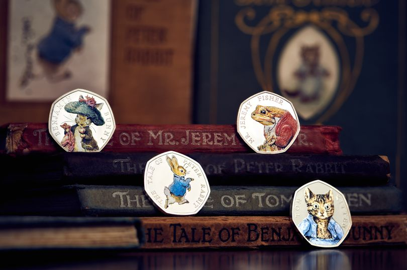 Royal Mint unveil new Beatrix Potter coin collection