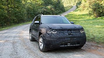 2018 Volkswagen SUV Prototype