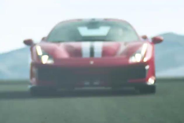 【ビデオ】フェラーリ、新しい「488」の高性能バージョンを動画でチラ見せ!