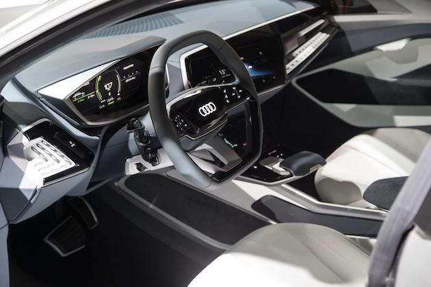 Audi e-tron Sportback concept world premiere Shanghai 2017