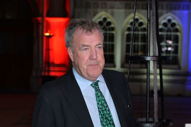 Jeremy Clarkson arriving at the Sun Military Awards, at the Guildhall, London.