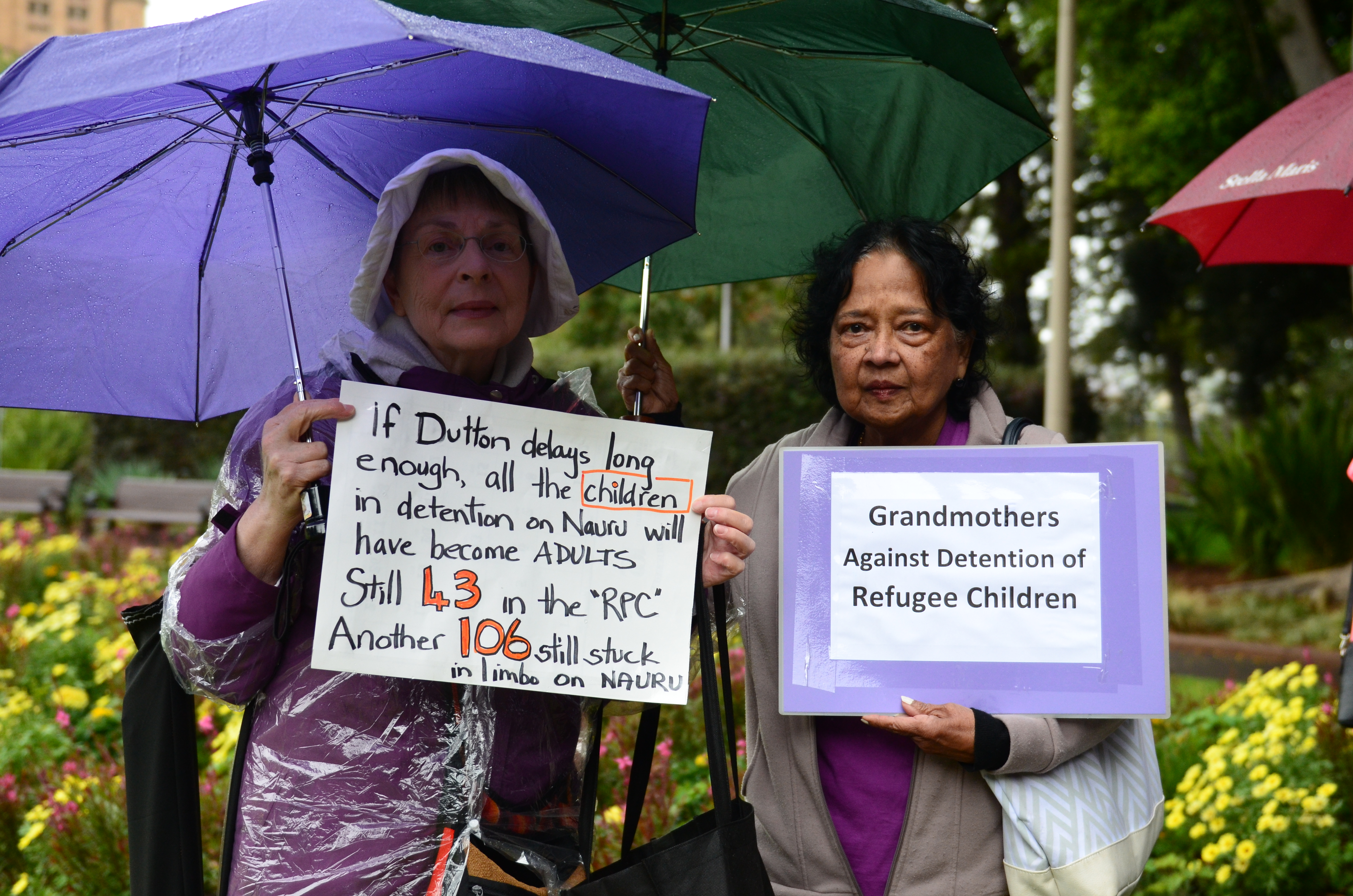 Hundreds Rally Against Government's Treatment Of Manus Asylum