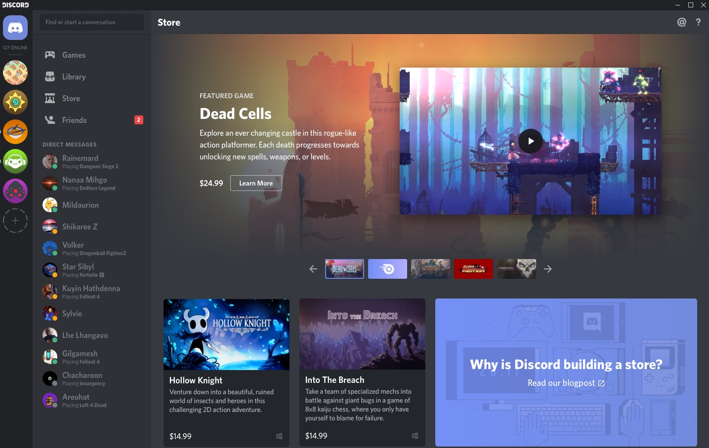 Discord can beat Steam at its own game with a curated store