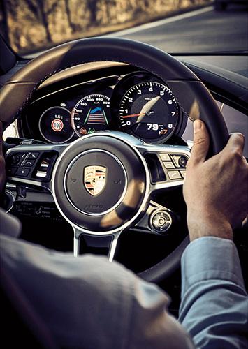 Porsche InnoDrive Test