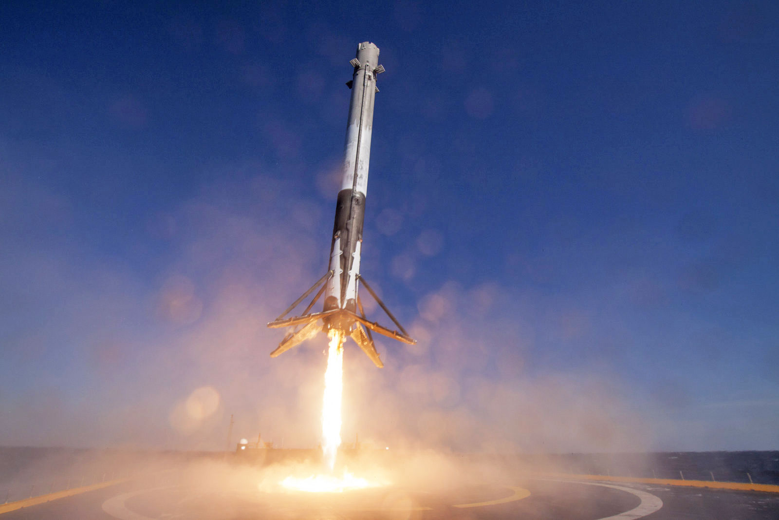 SpaceX releases video of its historic reused rocket landing