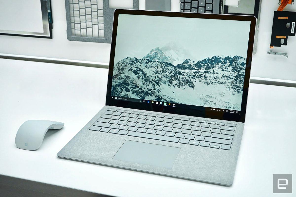 速報 surface laptop は国内7月20日発売 12万6800円から 新os