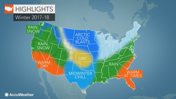 US winter forecast La Nia to fuel abundant snow in Rockies