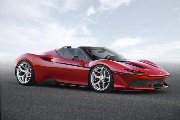 フェラーリ、日本進出50周年を記念して10台限定の特別モデル「J50」を発表