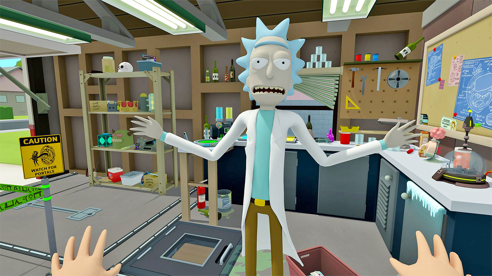 Rick And Morty Enter The Vr Video Game Universe On April