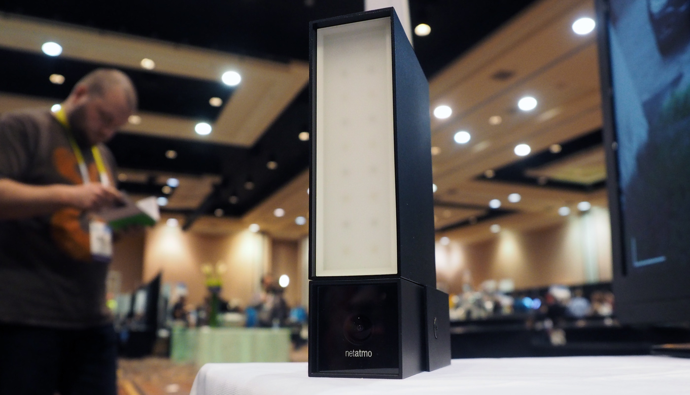 Netatmo S Security Cam Can Pick Out Cars Humans And Animals