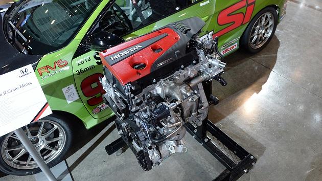 【SEMA2017】米国ホンダ、「シビック TYPE R」の2.0リッター直列4気筒VTECターボ・エンジンを単体で販売開始!