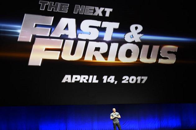 【レポート】『ワイルド・スピード』シリーズ第8弾、全米では2017年4月14日に公開!
