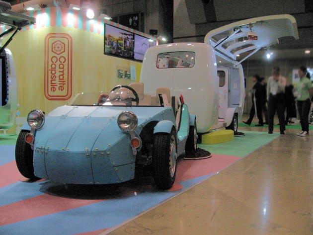 大人も欲しいホビールーム!! トヨタが「カマッテ・カプセル」を東京おもちゃショー2016に出展!!
