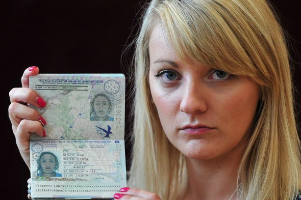 Natalie Peel and her disastrous passport
