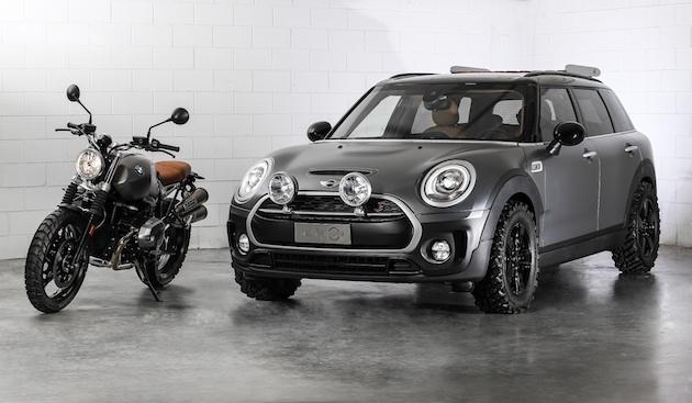 BMWのオートバイから着想を得た、MINI「クラブマン All4 スクランブラー」コンセプト
