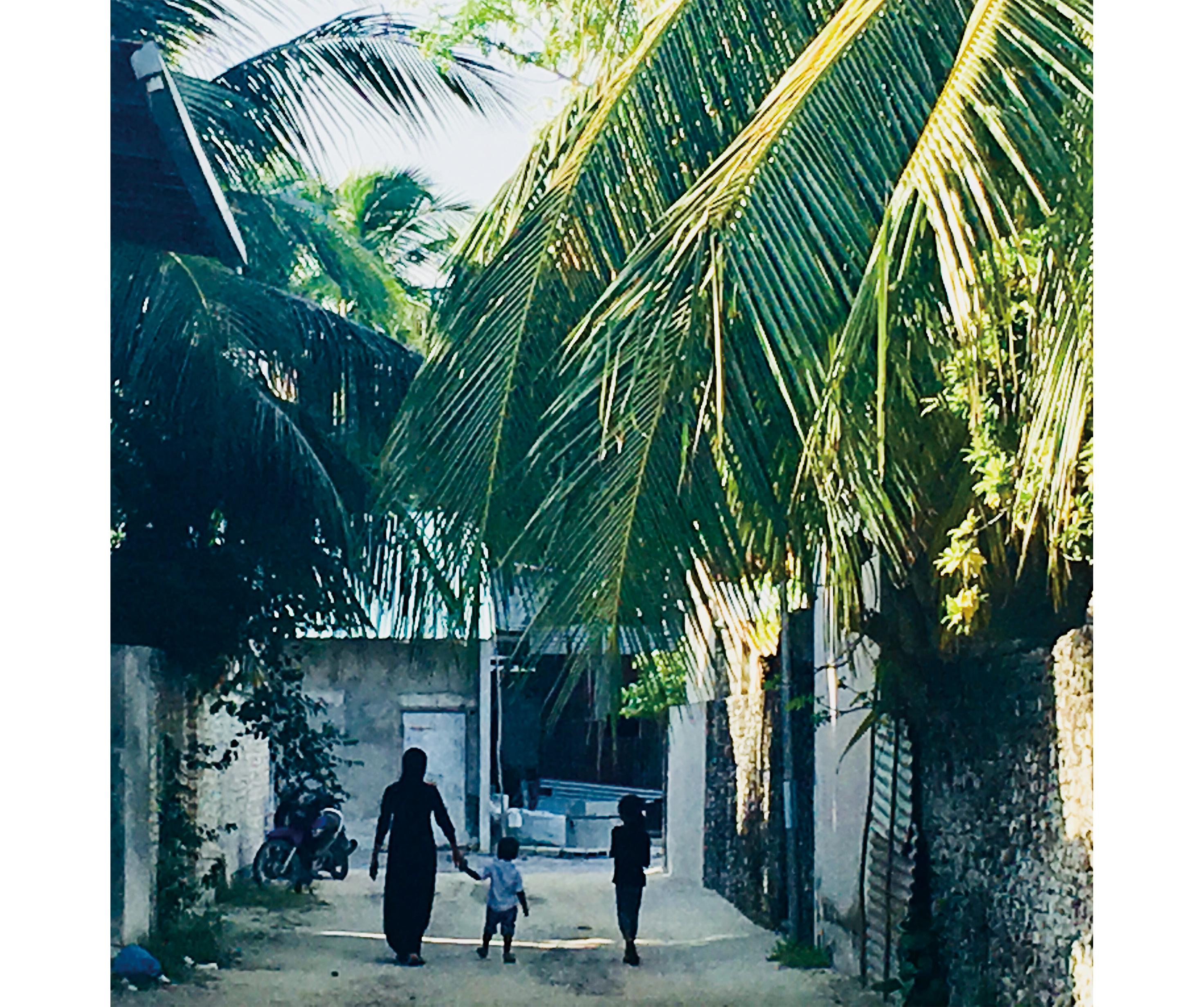 離島の風景
