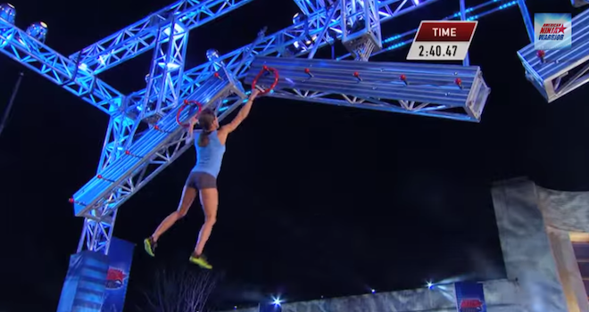 American Ninja Warrior Woman